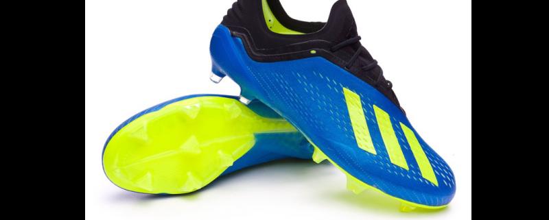 objetivo Lubricar perdonar  Adidas-x-18.1-fg-foot-blue-solar-yellow – The Soccer Shop